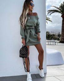 Φόρεμα - κώδ. 2409 - λαδί