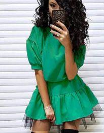 Φόρεμα - κώδ. 2856 - πράσινο