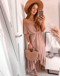 Φόρεμα - κώδ. 0186 - 4 - πούδρα