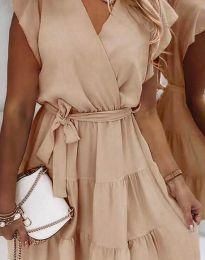 Φόρεμα - κώδ. 2345 - μπεζ
