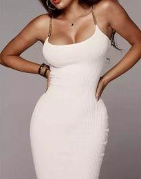 Φόρεμα - κώδ. 2582 - λευκό