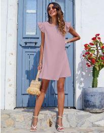 Φόρεμα - κώδ. 6261 - πούδρα