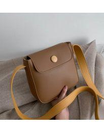 Τσάντα - κώδ. B76 - καφέ