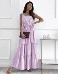 Φόρεμα - κώδ. 2578 - μωβ