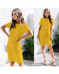 Φόρεμα - κώδ. 835 - κίτρινο