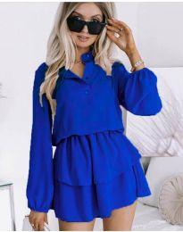 Φόρεμα - κώδ. 4093 - μπλε