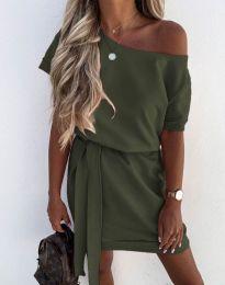 Φόρεμα - κώδ. 6737 - λαδί