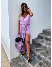 Φόρεμα - κώδ. 0081 - μωβ