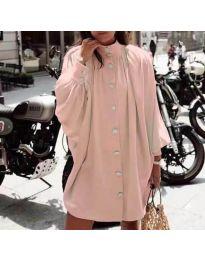 Φόρεμα - κώδ. 0899 - ροζ