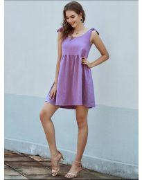 Φόρεμα - κώδ. 2255 - μωβ
