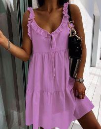 Φόρεμα - κώδ. 2540 - μωβ
