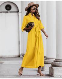 Φόρεμα - κώδ. 0900 - κίτρινο