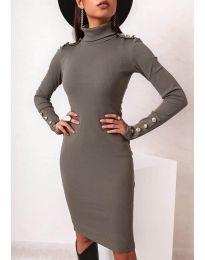 Φόρεμα - κώδ. 11513 - χακί