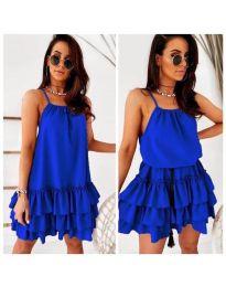 Φόρεμα - κώδ. 451 - μπλε