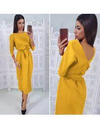 Φόρεμα - κώδ. 974 - μουσταρδί