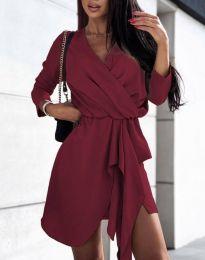 Φόρεμα - κώδ. 2879 - μπορντό