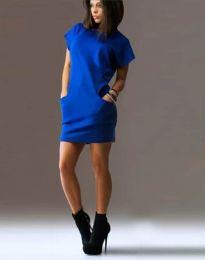 Φόρεμα - κώδ. 1585 - 3 - μπλε