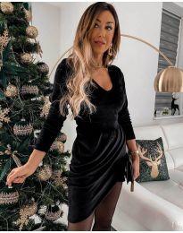 Φόρεμα - κώδ. 2129 - μαύρο