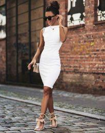 Φόρεμα - κώδ. 1675 - 2 - λευκό