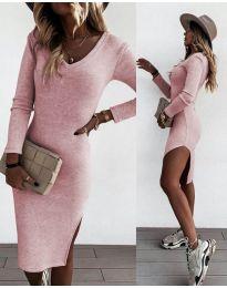Φόρεμα - κώδ. 884 - ροζ