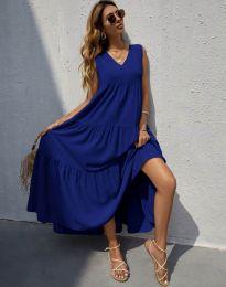Φόρεμα - κώδ. 8149 - σκούρο μπλε
