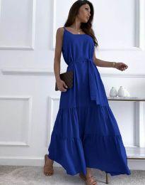 Φόρεμα - κώδ. 2578 - σκούρο μπλε