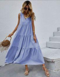 Φόρεμα - κώδ. 8149 - γαλάζιο