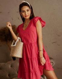 Φόρεμα - κώδ. 6224 - μπορντό