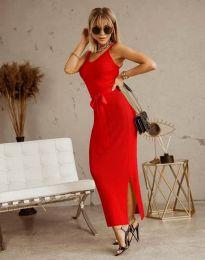 Φόρεμα - κώδ. 6166 - κόκκινο