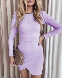 Φόρεμα - κώδ. 2835 - μωβ