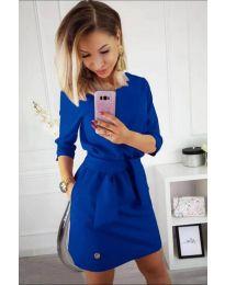 Φόρεμα - κώδ. 594 - μπλε