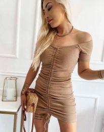 Φόρεμα - κώδ. 6590 - καπουτσίνο