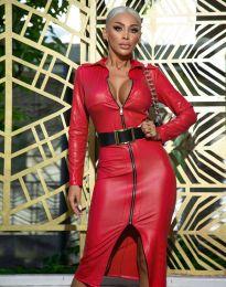 Φόρεμα - κώδ. 0547 - 2 - κόκκινο