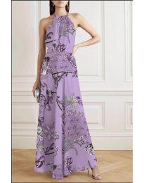 Φόρεμα - κώδ. 2268 - μωβ