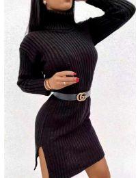 Φόρεμα - κώδ. 6867 - μαύρο