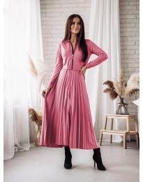 Φόρεμα - κώδ. 1544 - ροζ