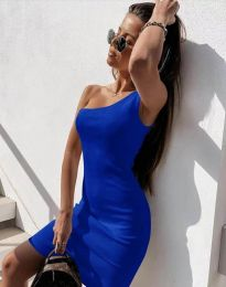 Φόρεμα - κώδ. 6412 - μπλε