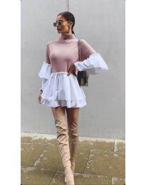 Φόρεμα - κώδ. 1188 - ροζ