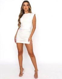 Φόρεμα - κώδ. 11985 - λευκό