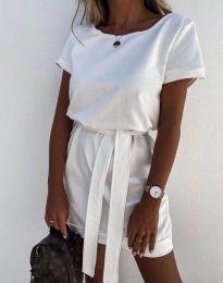 Φόρεμα - κώδ. 6737 - λευκό