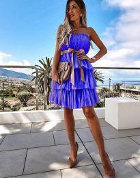 Φόρεμα - κώδ. 3065 - μπλε