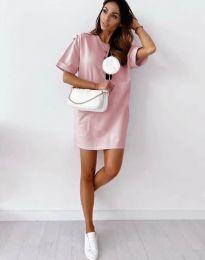 Φόρεμα - κώδ. 2231 - ροζ