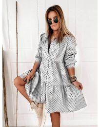 Φόρεμα - κώδ. 5557 - λευκό