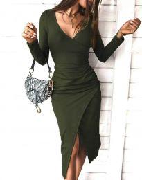 Φόρεμα - κώδ. 4769 - λαδί