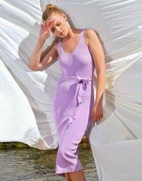 Φόρεμα - κώδ. 2721 - μωβ