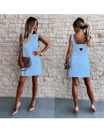Φόρεμα - κώδ. 1156 - γαλάζιο