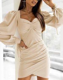 Φόρεμα - κώδ. 0363 - μπεζ
