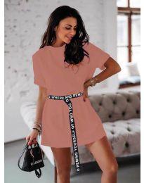 Φόρεμα - κώδ. 809 - πούδρα