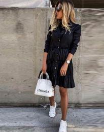 Φόρεμα - κώδ. 1366 - 1 - μαύρο