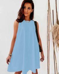 Φόρεμα - κώδ. 9862 - γαλάζιο
